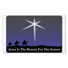 Jesus is the reason for the season Christmas Stick