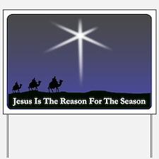 Jesus is the reason for the season Christmas Yard