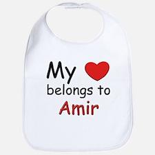 My heart belongs to amir Bib