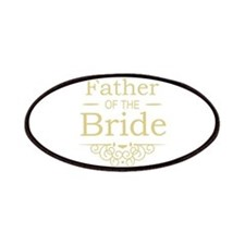 Father of the Bride gold Patches