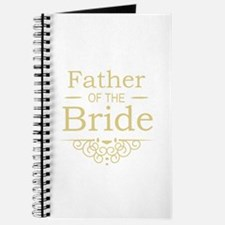 Father of the Bride gold Journal