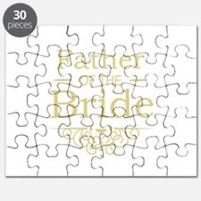 Father of the Bride gold Puzzle