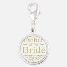 Father of the Bride gold Charms