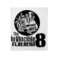 Invinciable 8 Throw Blanket
