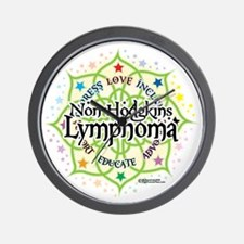 NH-Lymphoma-Lotus Wall Clock