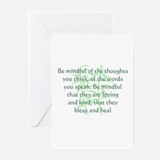 Be Mindful Greeting Cards