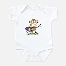 Scrapbook Monkey Infant Bodysuit