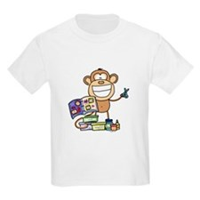 Scrapbook Monkey Kids T-Shirt