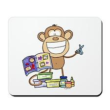 Scrapbook Monkey Mousepad