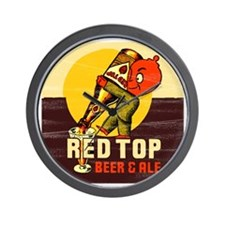 redtopbeer Wall Clock
