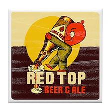 redtopbeer Tile Coaster
