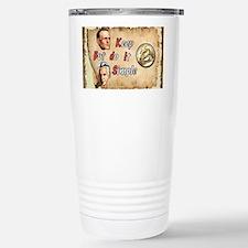 BILL  BOB WITH COIN Travel Mug