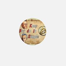 BILL  BOB WITH COIN Mini Button