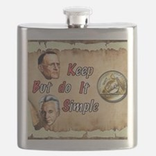 BILL  BOB WITH COIN Flask