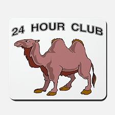 24 HOUR CLUB.gif Mousepad