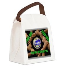2-clean house Canvas Lunch Bag