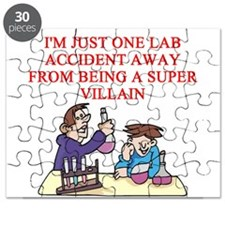 funny chemistry experiment gifts t-shirts Puzzle