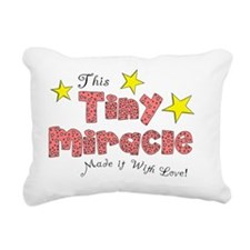 Tiny Miracle Rectangular Canvas Pillow