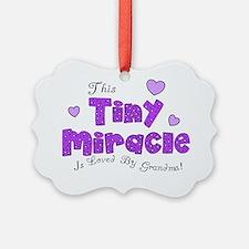 Tiny Miracle Ornament