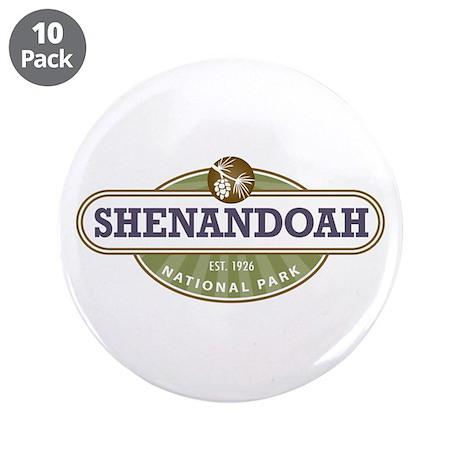 """Shenandoah National Park 3.5"""" Button (10 pack)"""