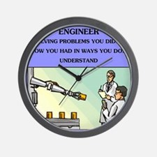 engineering Wall Clock