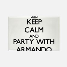 Keep Calm and Party with Armando Magnets
