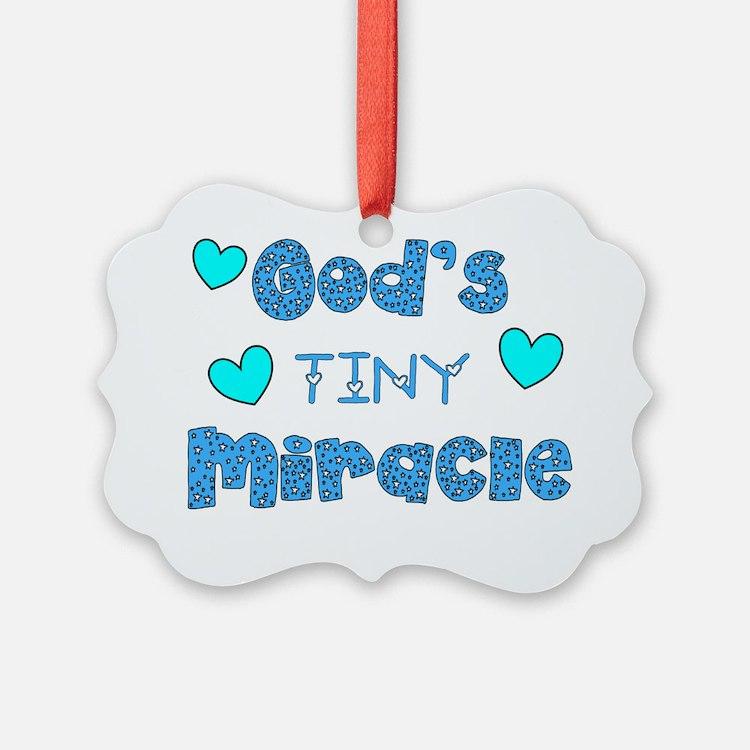 Gods Tiny Miracle Ornament