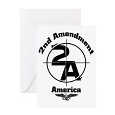 2nd Amendment Greeting Card