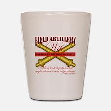 field artillery wife Shot Glass