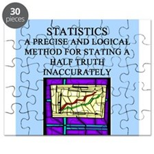 funny statistics math gifts t-shirt Puzzle