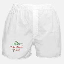 'Hoppy' Valentine's Day Boxer Shorts