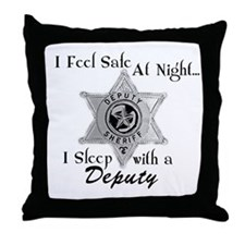 Unique Policewives Throw Pillow