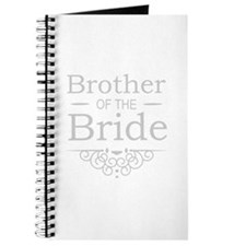 Brother of the Bride silver Journal