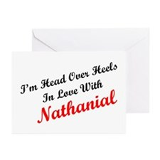 In Love with Nathanial Greeting Cards (Package of