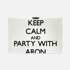 Keep Calm and Party with Aron Magnets