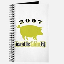 """2007 - Golden Pig"" Journal"