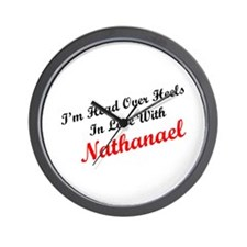 In Love with Nathanael Wall Clock