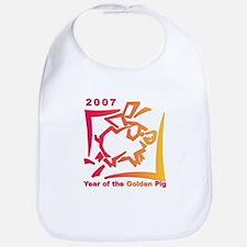 """2007 - Year of the Golden Pi Bib"