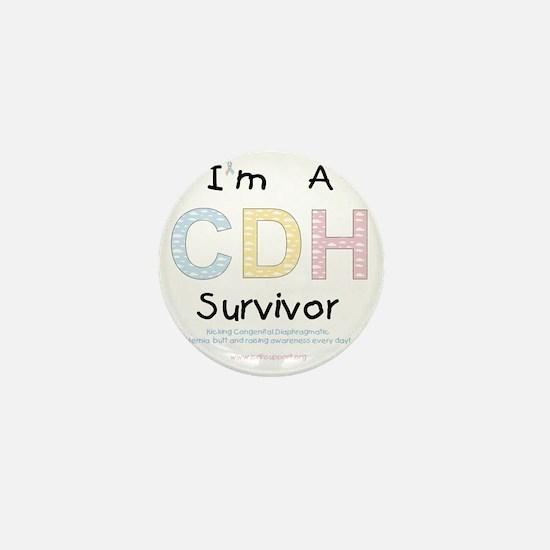 CDHsurvivor Mini Button