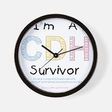 CDHsurvivor Wall Clock