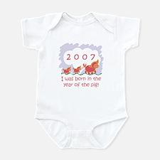 """""""2007 - Baby Pigs"""" Infant Bodysuit"""