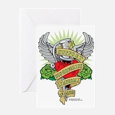 Non-Hodgkins-Lymphoma--Dagger Greeting Card