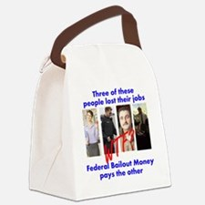 lost-jobs Canvas Lunch Bag