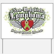 NH-Lymphoma-Wings Yard Sign