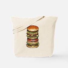 hamburger life and joy Tote Bag