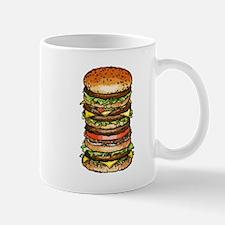 hamburger life and joy Mugs
