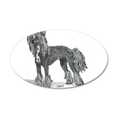 Chinese Crested Wall Decal