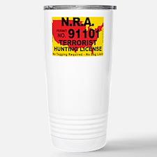 TH-License-NRA Stainless Steel Travel Mug
