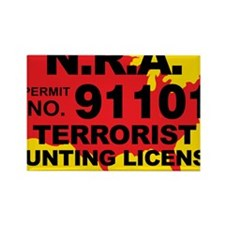 TH-License-NRA Rectangle Magnet