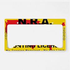 TH-License-NRA License Plate Holder
